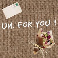 """【 un. for you ! 】〜世界に一つだけのぬくもりある""""gift""""をあなたの手から〜"""